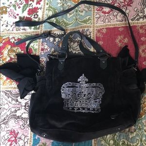 Juicy Couture crown purse